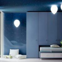 Bajkowe lampy w pokoju dziecka