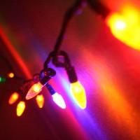 Lampki świąteczne jako dekoracja