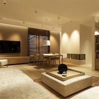 Światłem namalowany niezwykły klimat salonu